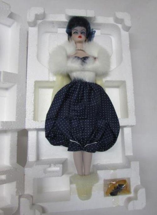 Gay Parisienne 1959 Porcelana Colección Barbie tesoreros, Edición Limitada Nuevo
