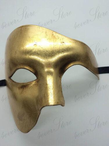 Venetian Mardi Gras Costume Half Masks Phantom of the Opera Masquerade Mask