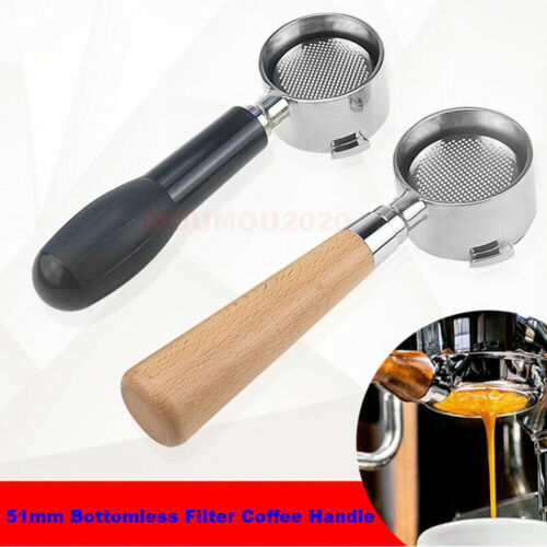 Espresso Coffee Machine Maker Naked Portafilter Handle Bottomless Porta Filter
