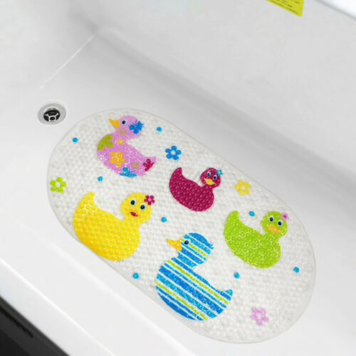 Anti Slip Baby Bath Mat Non Slip Baby Bath Mat Ducks Kids Long Strong Suction