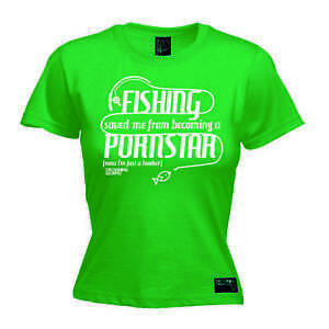 Details About Ladies Fishing Saved Me Pornstar Adult Offensive Funny Birthday T SHIRT