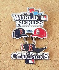2013 Boston Red Sox vs St. Louis Cardinals Champions WS World Series dangle pin