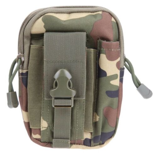 EDC Survival Multitool Kit with Belt Pouch Emergency Hunting Fishing