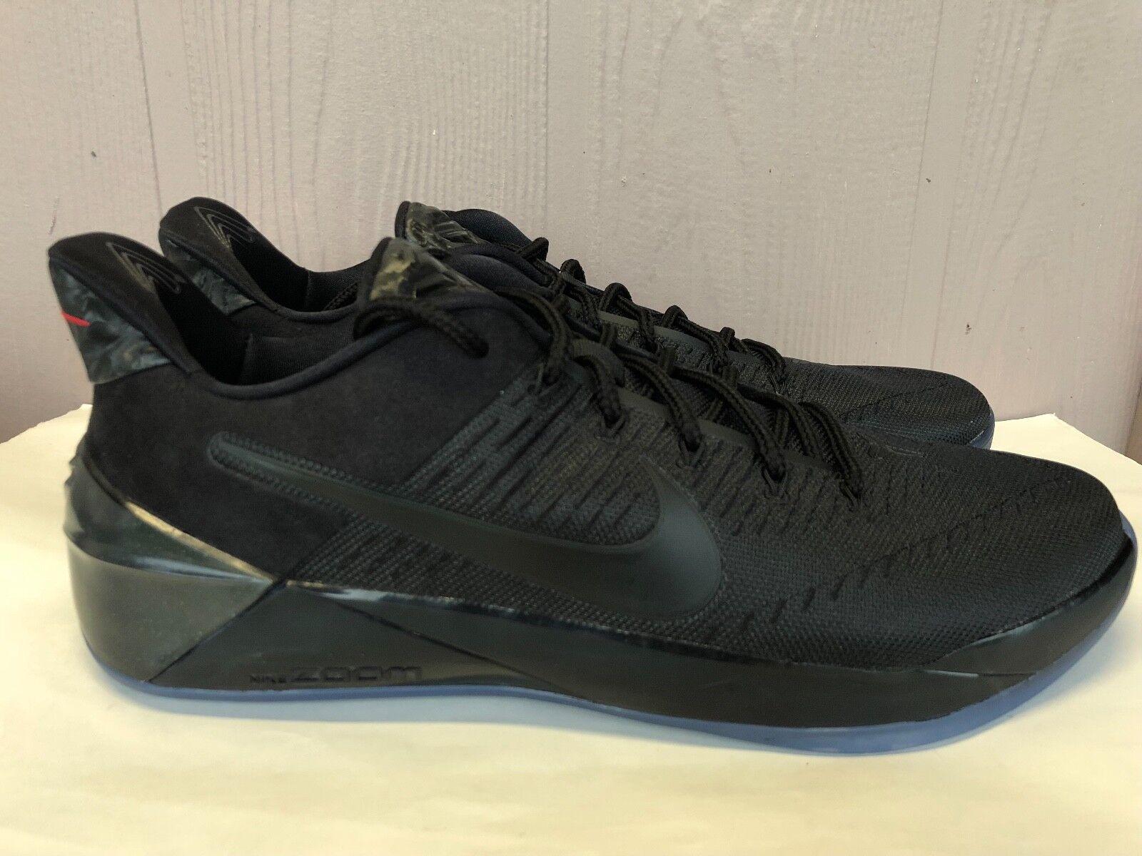 Homme Nike Kobe A.D. Triple Noir Mamba Basketball Chaussures