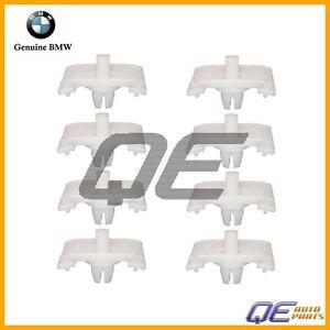 E28 Door Moulding CLIP ; Set of 8-51131875898 BMW E24