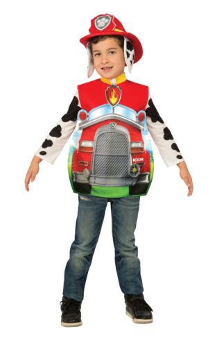 Bambino Paw Patrol Costume Marshall Rubble Chase Skye Zaino Bambini