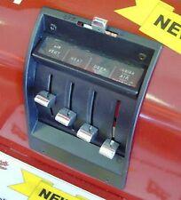 1957 Chevy Heater Controll Knob Dash Set Billet Belair