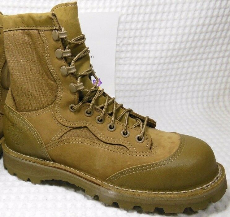 Danner®  Steel Toe 15610X USMC RAT 8  MOJAVE Leather Combat Boots Sz 5R