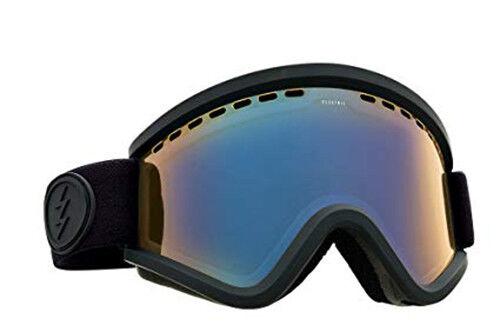 Elektrisch Visuell Egv Mattschwarz Snowboard Brille (Gelb/Blau-Chrom)