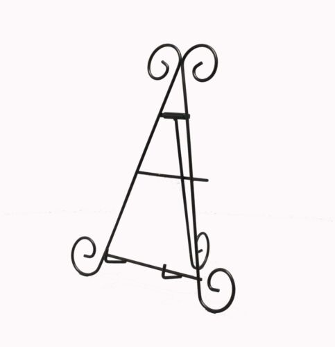 show original title Details about  /2pk iron wire easel plate picture books literature display stand