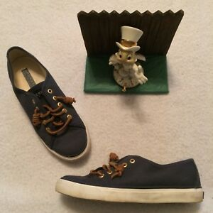 Image is loading Sperry-Seacoast-Womens-STS90550-Canvas -Casual-Shoes-Sneakers- 128380c37