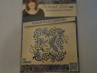 Tattered Lace Tudor Rose Tapestry D495 Stephanie Weightman