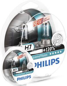 Philips-X-Treme-Vision-H7-Y-H1-130-PX26D-1297xv-2-piezas-El-Conjunto