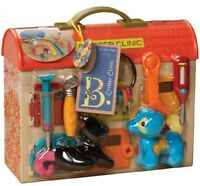 B. Critter Clinic Toy Vet Play Set Kids Pretend Games Birthday Toys Hospital
