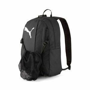 Puma-Fussball-GOAL-23-Rucksack-mit-Ballnetz-Backpack-schwarz