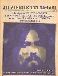 MAGAZINE-OOR-1972-nr-11-GEORGE-HARRISON-BANGLAH-DESH-PINK-FLOYD-DONOVAN