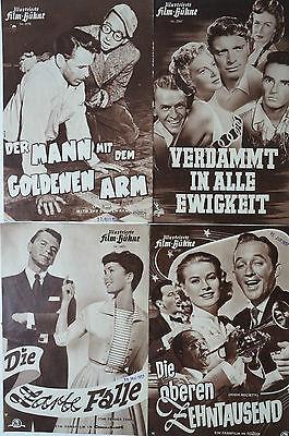 LiebenswüRdig Illustrierte Film-bühne 4 Einleger Frank Sinatra Verdammt In Alle Ewigkeit B2761 Bücher