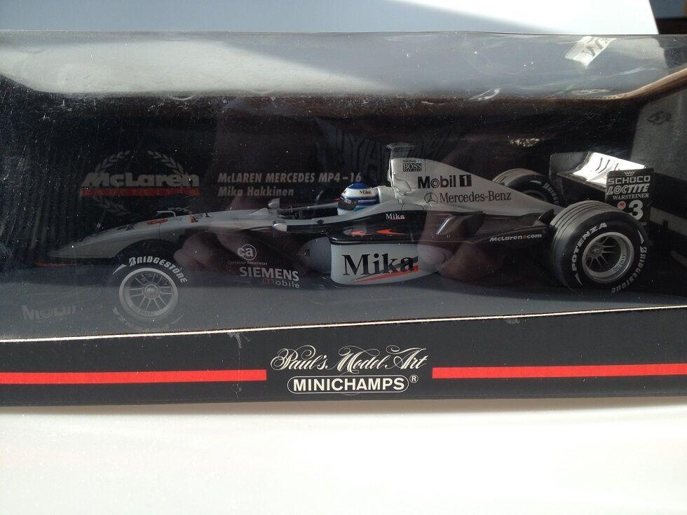 1 18 Minichamps McLaren Mp416 M.Hakkinen 530011803