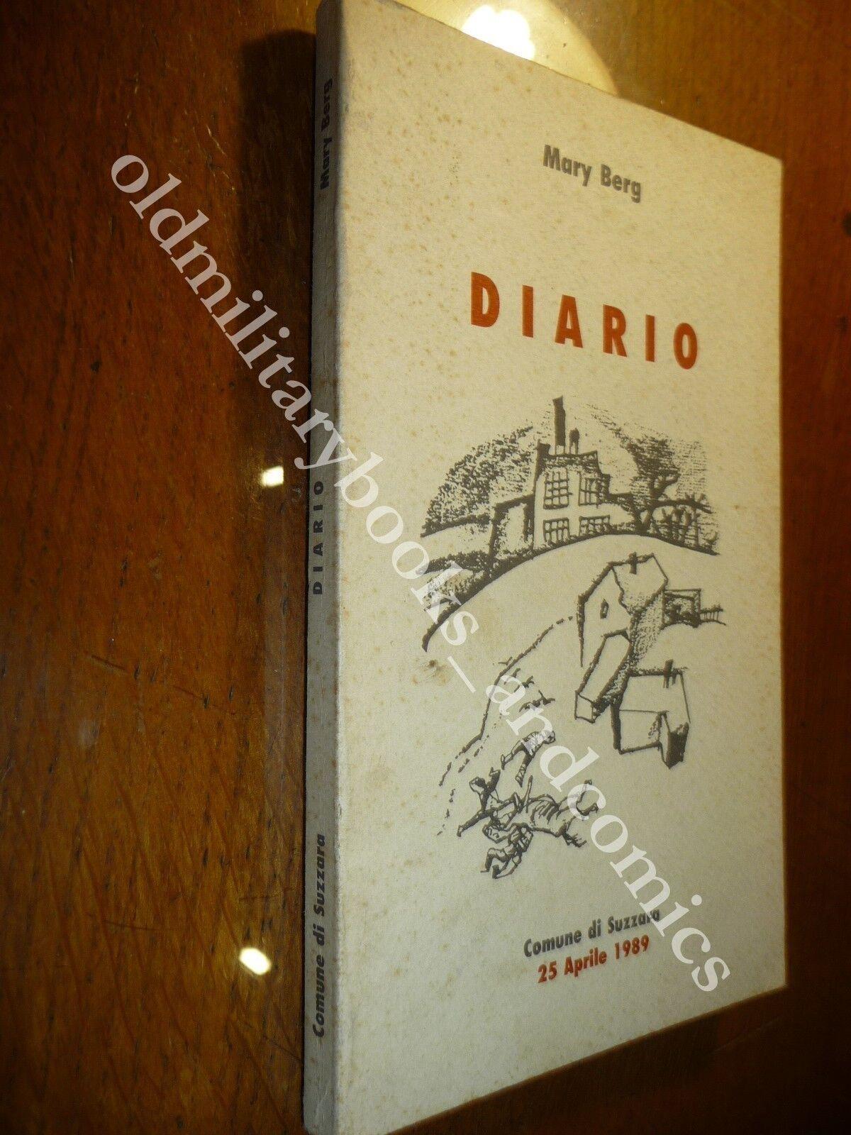 DIARIO IL GHETTO DI VARSAVIA MARY BERG RISTAMPA DEL COMUNE DI SUZZARA 1989