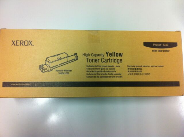 Original Xerox Toner 106R01220 6360 New B