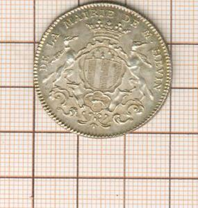 Magnífico Ficha Plata 1762 Ayuntamiento De Reno