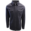 Jack /& Jones Men/'s Black Denim Slim Sheridan L//S Shirt Retail $59.50