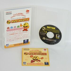 PAC-MAN-VS-Club-Nintendo-Limited-Edition-Game-Cube-For-JP-System-1045-gc
