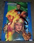 Original 2003 Ultimate Fantastic Four Marvel Comics 34x 22 comic book art poster