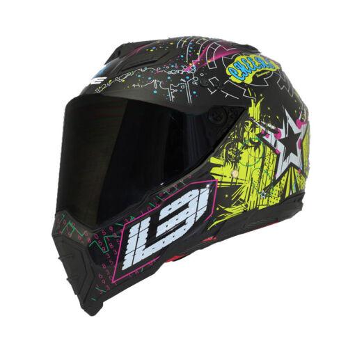 Dual Sport Off Road Motorcycle helmet Dirt E-Bike ATV Cheers