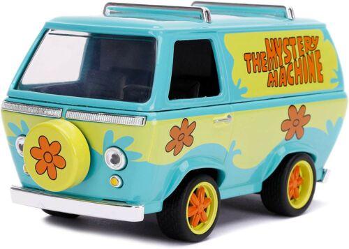 MISTERY MACHINE Modello Furgone 1//32 10cm Metallo DieCast Jada Scooby Doo