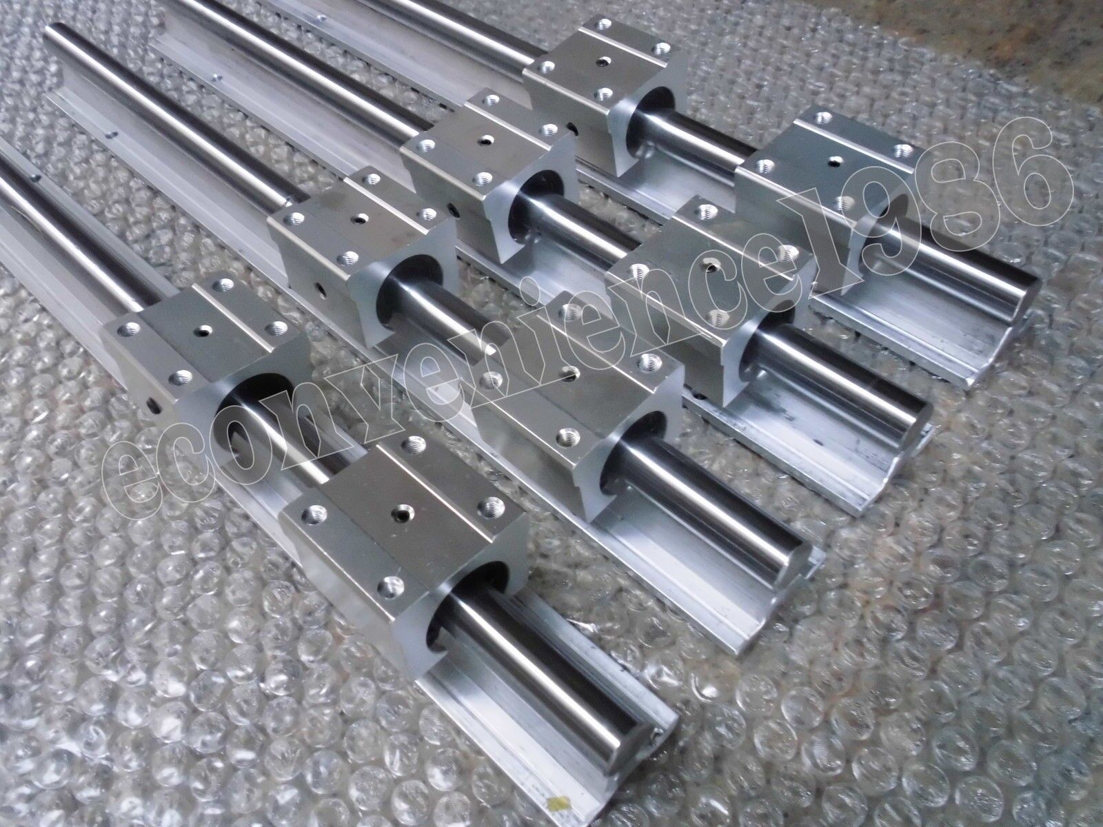 2 x HSR30CA-2R-790 mm Square Liner Rail /& 4 HSR30CA Blcok Bearing
