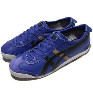 Asics-Onitsuka-Tiger-Mexico-66-Blue-Blue-Leather-Men-Shoes-Sneakers-D4J2L-4590