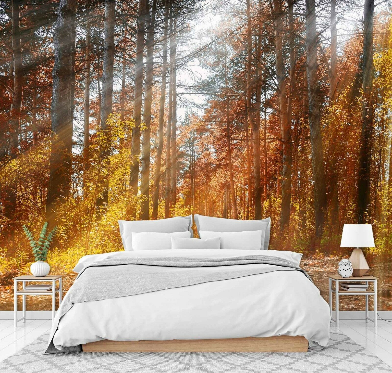 3D Forest Tree 76 Wall Paper Print Wall Decal Deco Indoor Wall Murals US Summer
