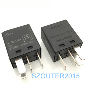 1pcs PA66-GF25 12VDC Tyco Relay coil SPDT 30//20A V23074-A1001-A403 NEW