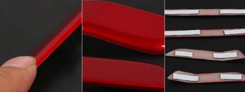 Red gloss 4 doors speaker moulding trim For 2017 2018 Honda CRV CR-V