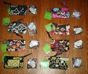 NWT-Vera-Bradley-BREAKAWAY-LANYARD-amp-ZIP-ID-CASE-badge-or-gift-card-holder