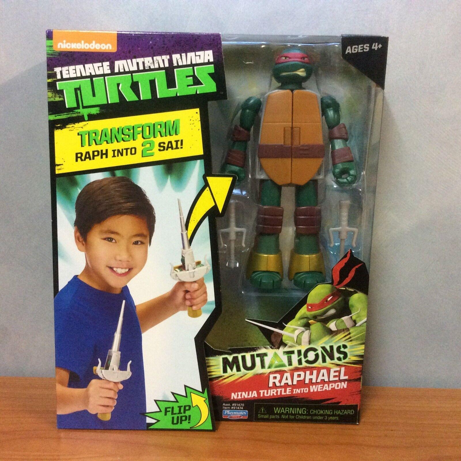 2015 Teenage Mutant Ninja Turtles Mutations - Raphael - Brand New