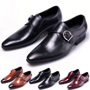 Vestido-de-Boda-Zapatos-De-Cuero-Vestido-Formal-Oxfords-de-Moda-de-Hombre-Empresa-Informal-Zapatos