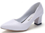 Womens-Pointed-Toe-Court-Pumps-High-Heels-Shoes-Block-Kitten-Spring-OL-Slip-On thumbnail 10