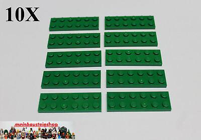 5 x LEGO® 3795 City,Basicsteine,Bausteine in flach 2x6 lime Neuware