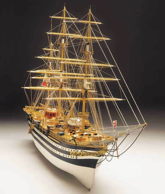 Mantua Amerigo Vespucci Construction Plans Set Only - Model Boat Scratch Build