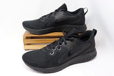 ba0875f2d45 Nike Legend React Running Shoes Triple Black AA1625-002 Men s NEW