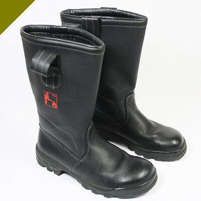 Cheap Sale Original Bw Feuerwehrstiefel Stiefel Baltes Leder Knobelbecher Arbeitsstiefel Arbeitskleidung & -schutz