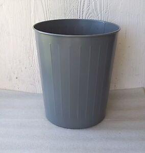 image is loading nos vintage witt 4 industrial tanker style wastebasket - Industrial Trash Cans