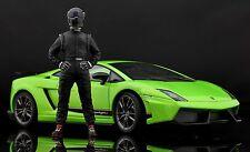 The black STIG Figure for 1:18 GT-Spirit Porsche RWB Top Gear VERY RARE