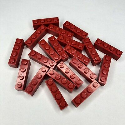 1x4 10 x Lego Part 3010 red