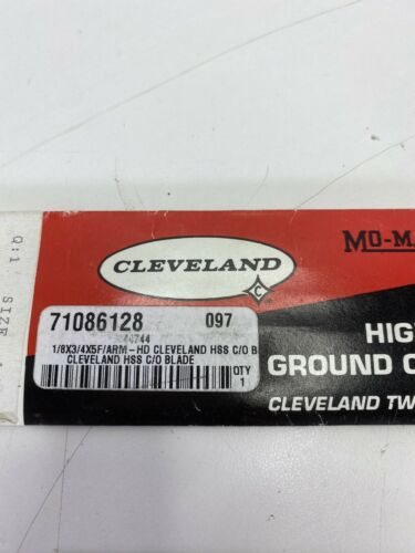 """Cleveland Mo-Max Cobalt Cut-Off Blade EDP 44744  1//8/"""" x 3//4/"""" x 5/"""" NEW IN PACKAGE"""