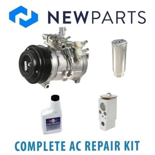 For Toyota Sequioa 2001-2007 AC A//C Repair Kit w// New Compressor /& Clutch