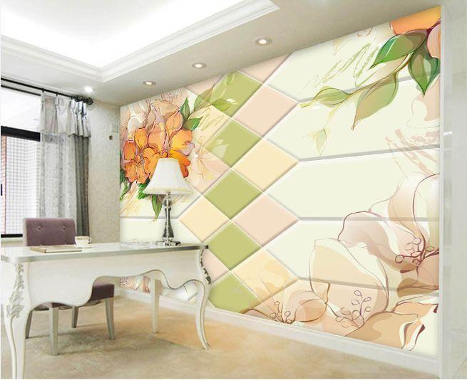 3D Flower Graffiti 696 Paper Wall Print Decal Wall Wall Murals AJ WALLPAPER GB