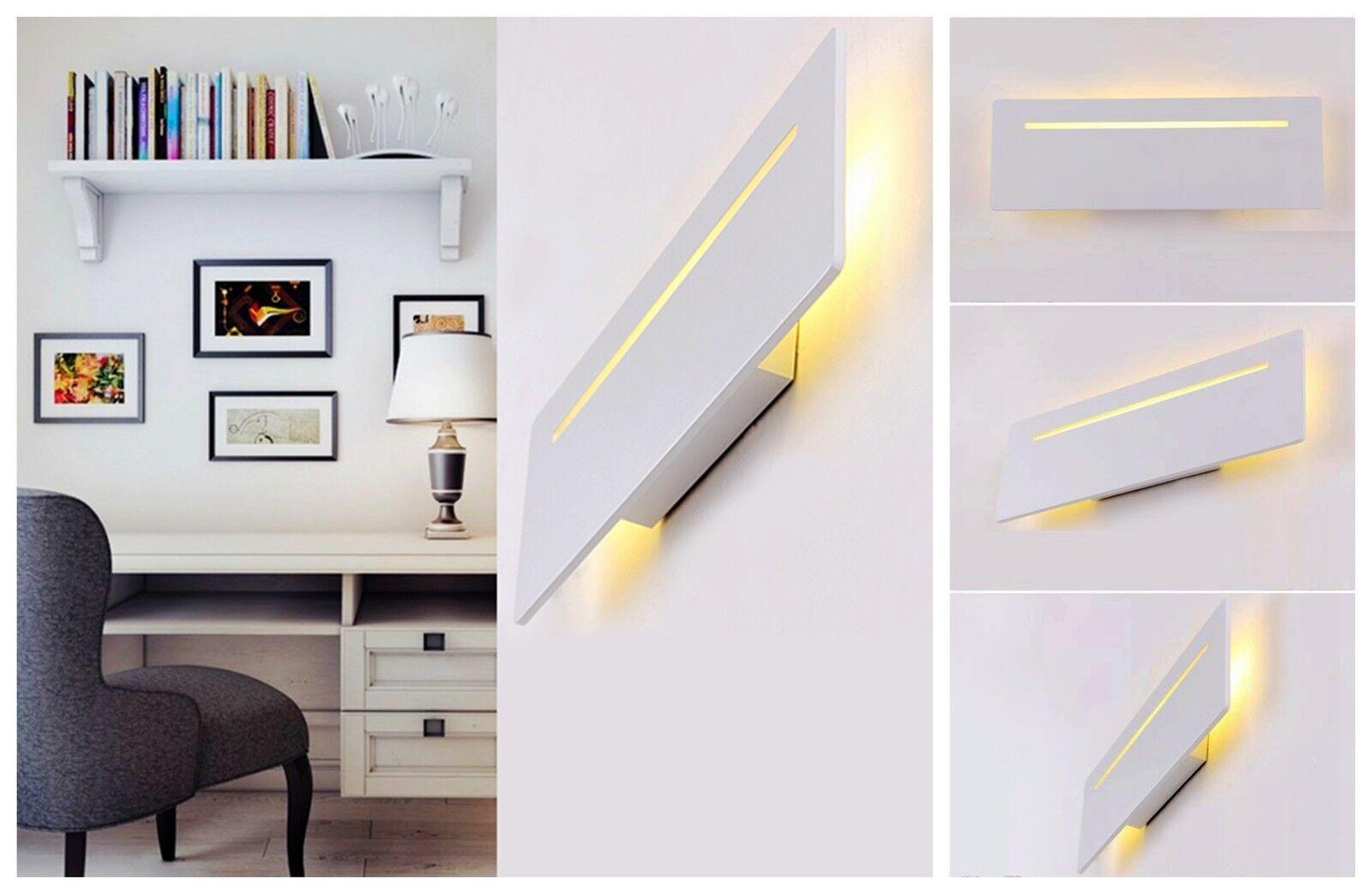 Applique da da da parete a led w arredo moderno luce calda e